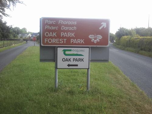 Teagasc Oak Park Panneau