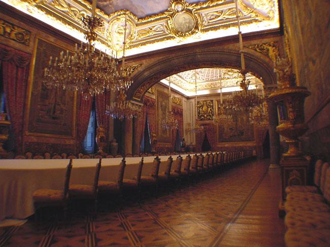 comedor de gala palacio