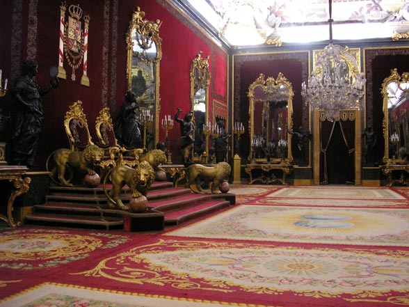 salle du trône palacio