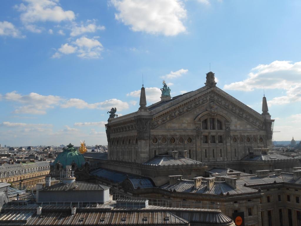 Galeries Lafayette vue Opéra