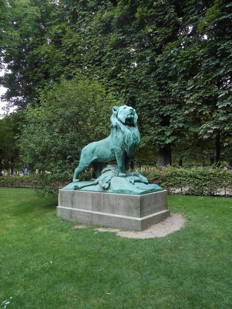 Sortie Ru jardin Luxembourg