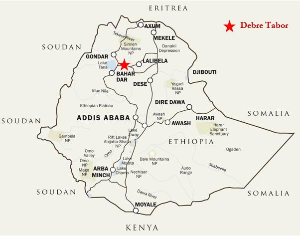 DebreTabor_map