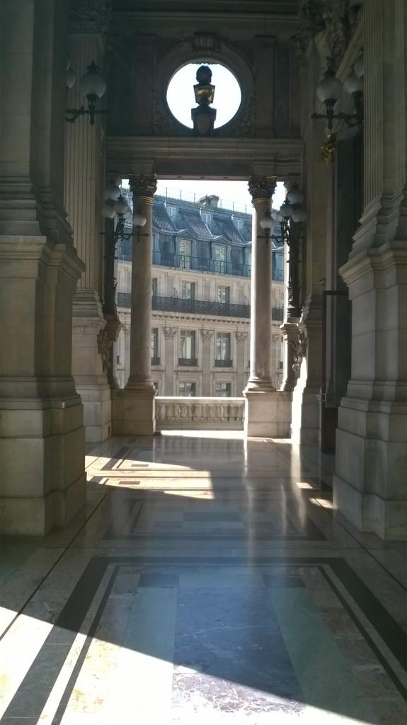 Balcon de l'Opéra Garnier